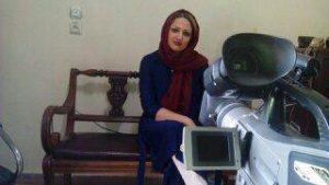 گفتگو با سولماز غلامی بازیگر فیلم به رنگ باران