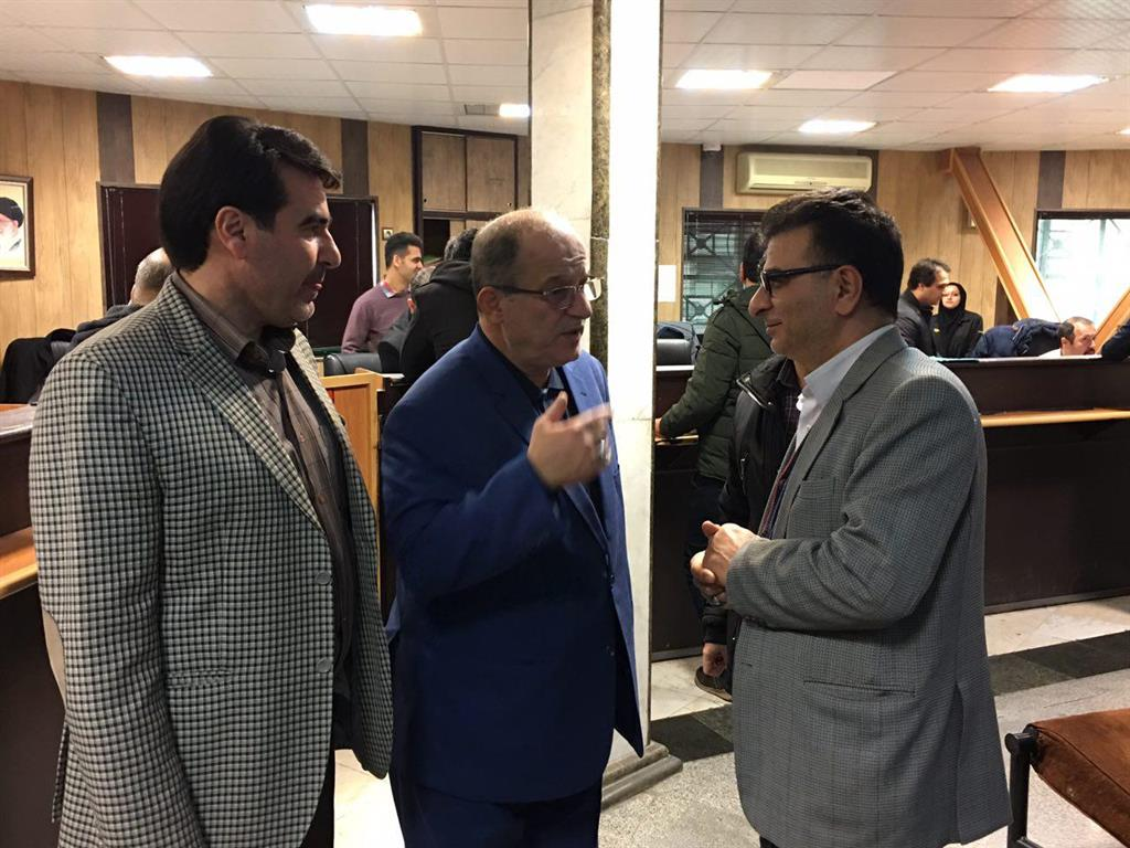 بازدید اسماعیل حاجی پور عضو شورای اسلامی شهر از منطقه یک شهرداری رشت