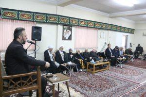 گزارش تصویری مراسم عزاداری حضرت فاطمه زهرا(س) در دفتر  ایت الله نوری همدانی واقع در رشت