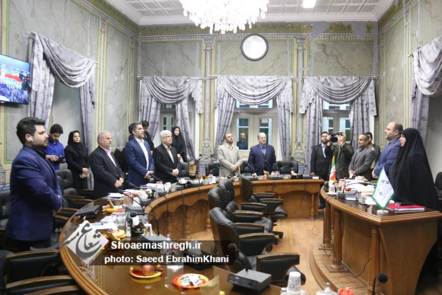گزارش تصویری/ هفتاد و ششمین جلسه شورا ؛  موافقت با تعریض پل آهنی هلال احمر – کمک برای مرمت مسجد حاج سمیع