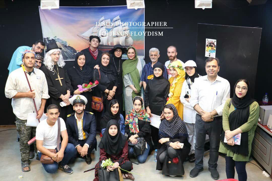استقبال بسیار خوب از خوانش مجدد نمایشنامه جزیره گنج در آموزشگاه سینمایی هفت