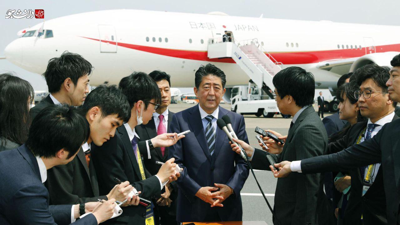 اظهارات نخست وزیر ژاپن پیش از عزیمت به تهران