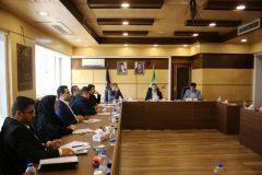 گزارش تصویری جلسه شورای اداری شهرداری رشت به ریاست شهردار رشت