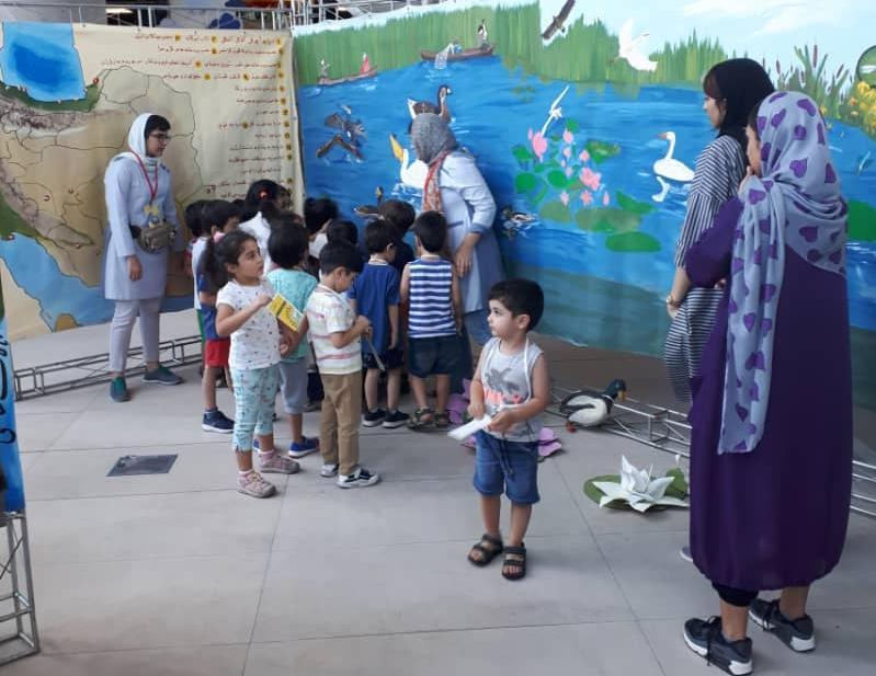 برپایی بزرگترین فنآموز «مدرسه تالابی» ویژه کودکان در باغ کتاب تهران