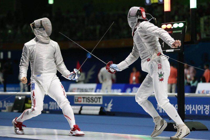 شمشیربازی گیلانی مقام ششم جهان را کسب کرد
