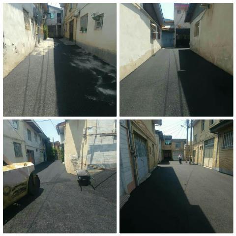 گزارش تصویری اجرای روکش آسفالت و عملیات عمرانی در سطح مناطق پنجگانه شهر رشت