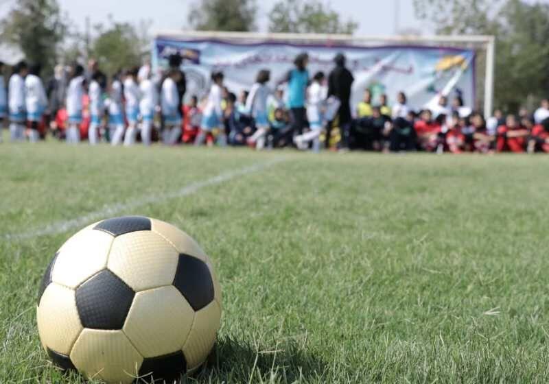 حضور تیم فوتبال دختران گیلان در المپیاد استعدادهای برتر