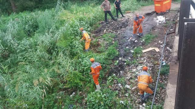 گزارش تصویری حوزه مدیریت خدمات شهری از هفته پانزدهم طرح پاکسازی هفتگی محلات شهر رشت