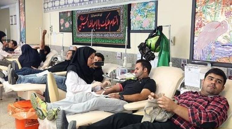 اهدا یکهزار و ۹۲۵ واحد خون در تاسوعا و عاشورا در گیلان