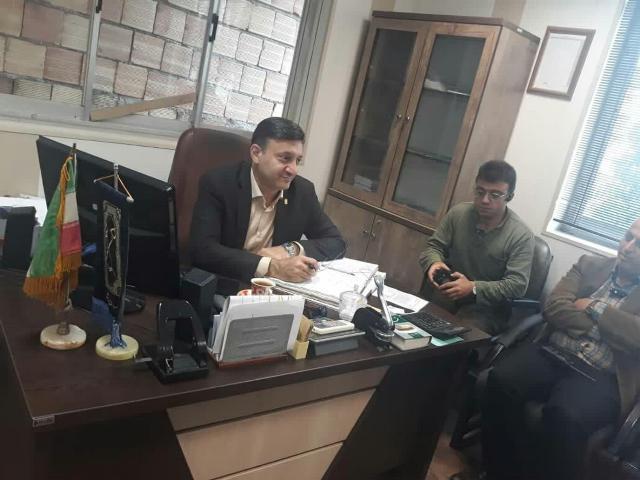 گزارش تصویری بازدید شهردار رشت از ناحیه دو منطقه یک شهرداری