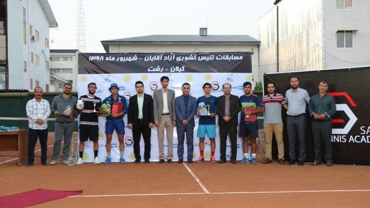 گیلان قهرمان مسابقات تنیس مردان کشور