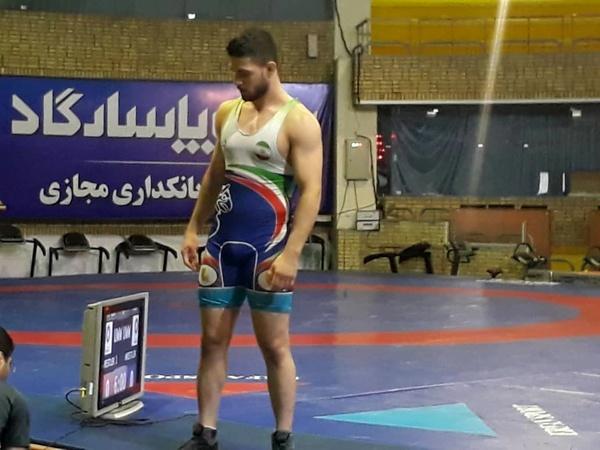 کشتیگیر گیلانی به عضویت تیم امید ایران در آمد