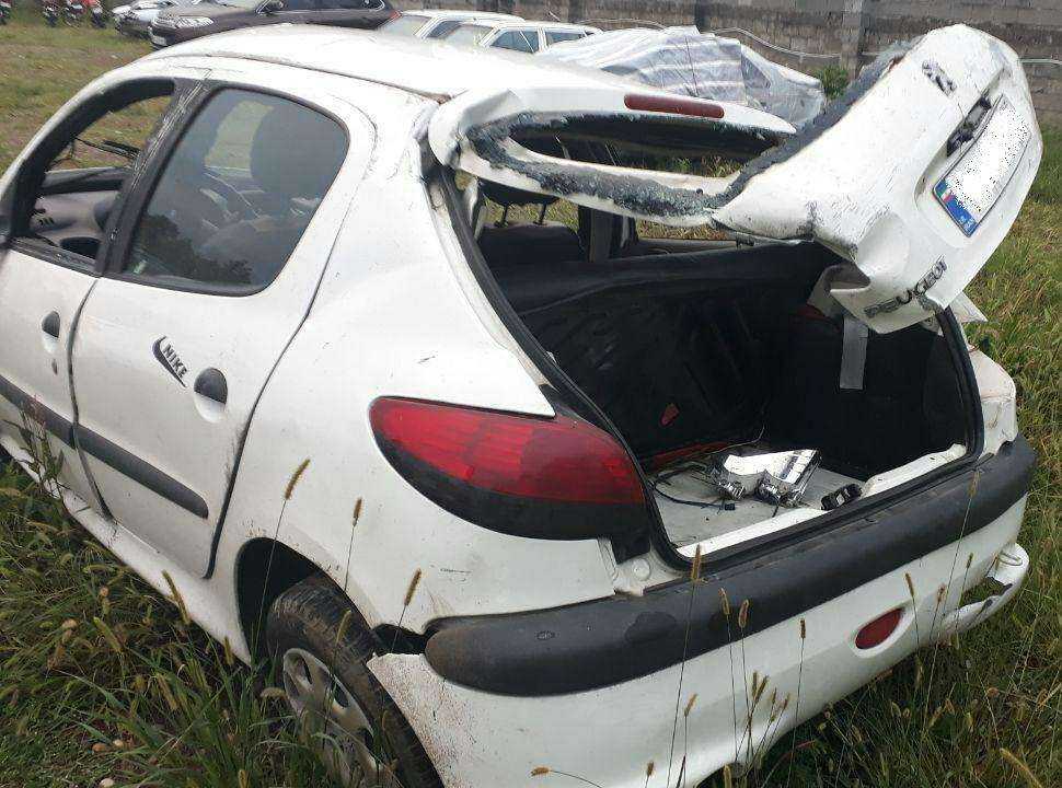 تخطی از سرعت در محور پونل – پرهسر حادثه آفرید