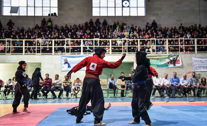 حضور تیم کونگ فو بانوان گیلان در مسابقات کشوری با هشت ورزشکار