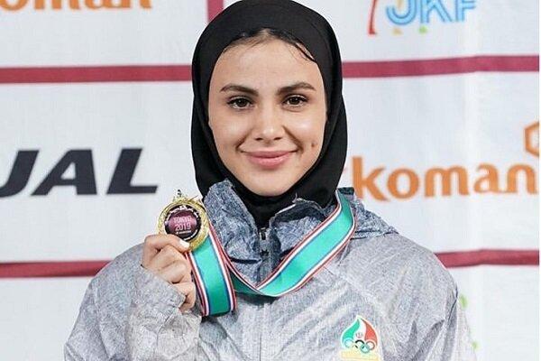 بانوی کاراتهکای گیلانی در رده نهم انتخابی المپیک قرار گرفت