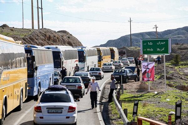 پیش بینی ۱۸۰ دستگاه اتوبوس برای جابجایی زائران اربعین حسینی گیلان
