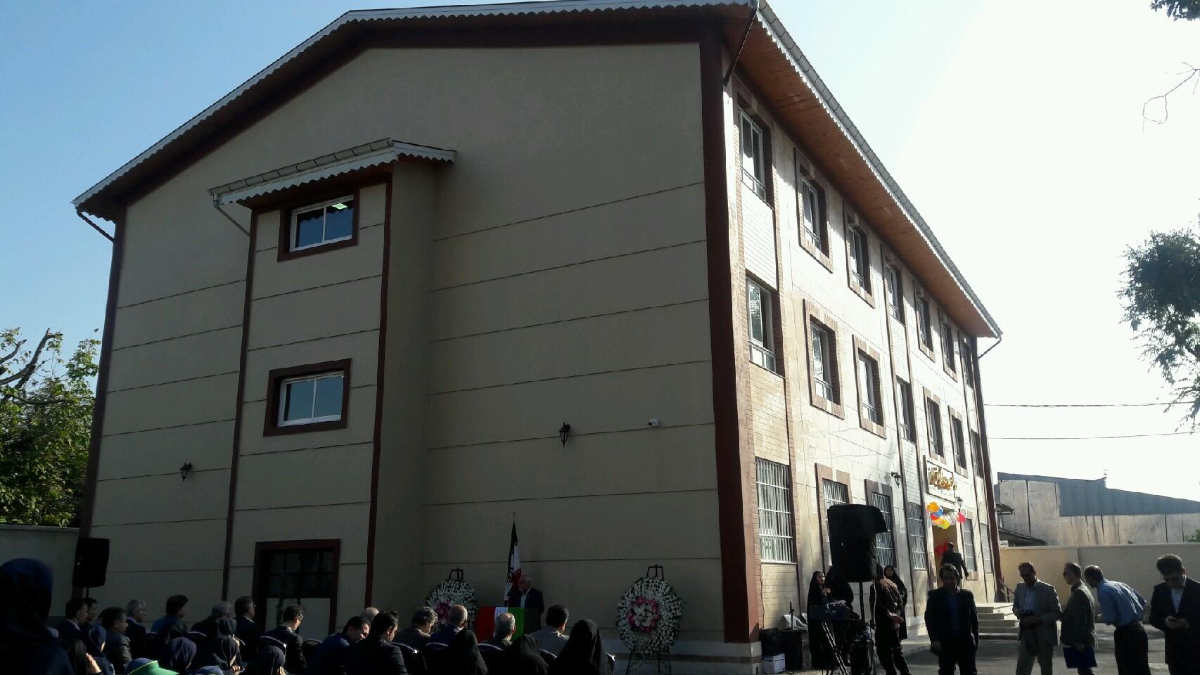 افتتاح یک مدرسه خیر ساز در رشت