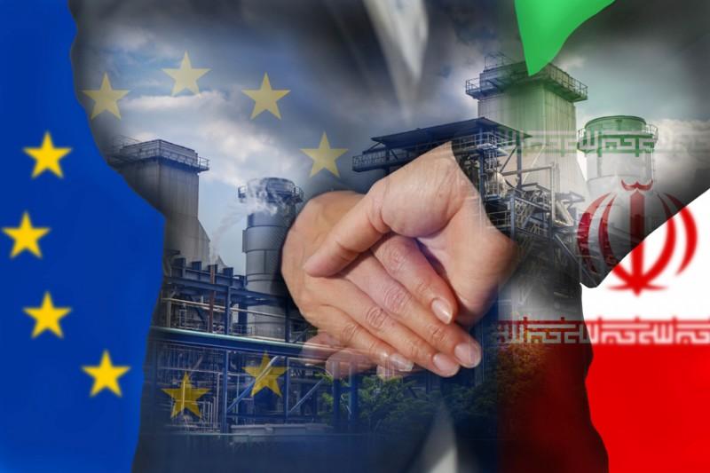 اُفت چشمگیر در تجارت ایران و اروپا