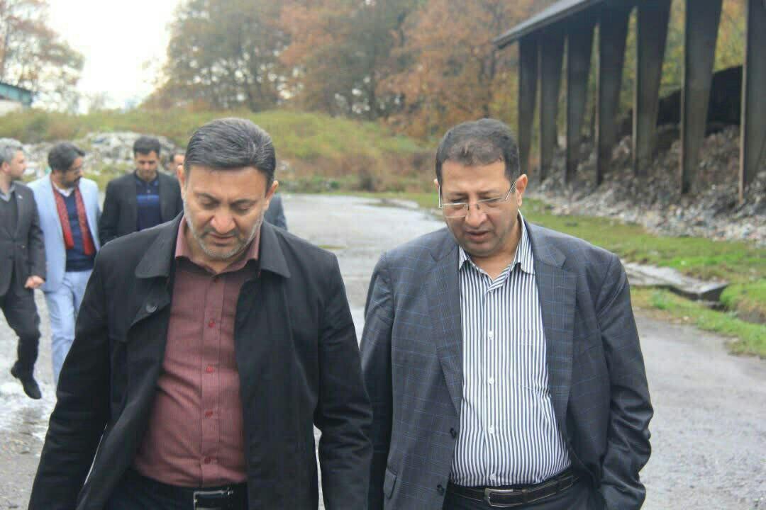 شهردار رشت با سرعت ساماندهی دفنگاه سراوان را پیش می برد