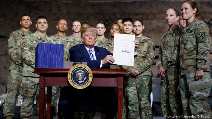 ترامپ ارتش ششم ایجاد کرد