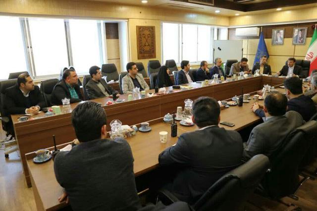 نشست شهردار رشت با روسای نواحی و معاونین خدمات شهری مناطق پنجگانه