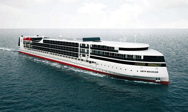 آغاز فعالیت بزرگترین کشتی مدرن گردشگری در دریای خزر