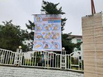 ارتش دفاعی شهر برای مقابله با کرونا به کمک شهروندان آمد