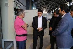 گزارش تصویری بازدید شهردار از روند اجرای احداث تصفیه خانه شیرابه سراوان