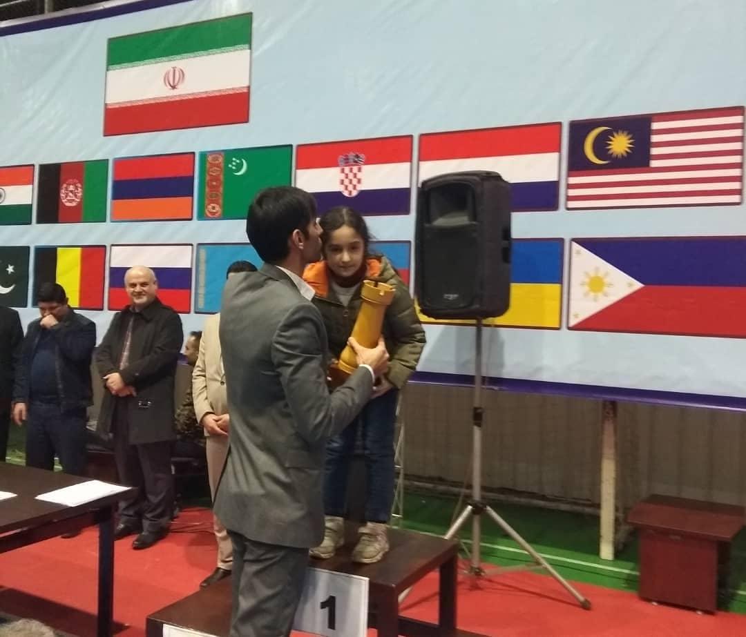 اتفاق ویژه در مسابقات بین المللی شطرنج کاسپین کاپ