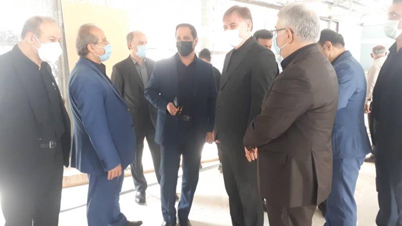 بازدید مسوولان عالی گیلان از پیشرفت فیزیکی بیمارستان صحرایی ارتش در رشت