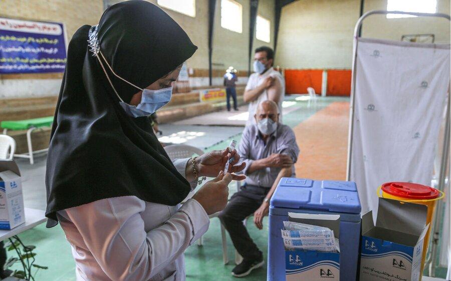 تزریق بیش از یک میلیون و ۳۳۲ هزار دوز واکسن کووید در گیلان