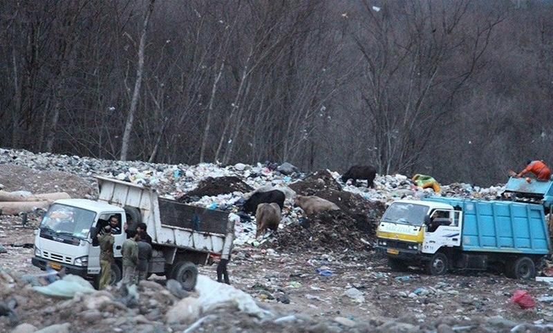 مشکلات سایت زباله سراوان میراث سوء مدیریت است