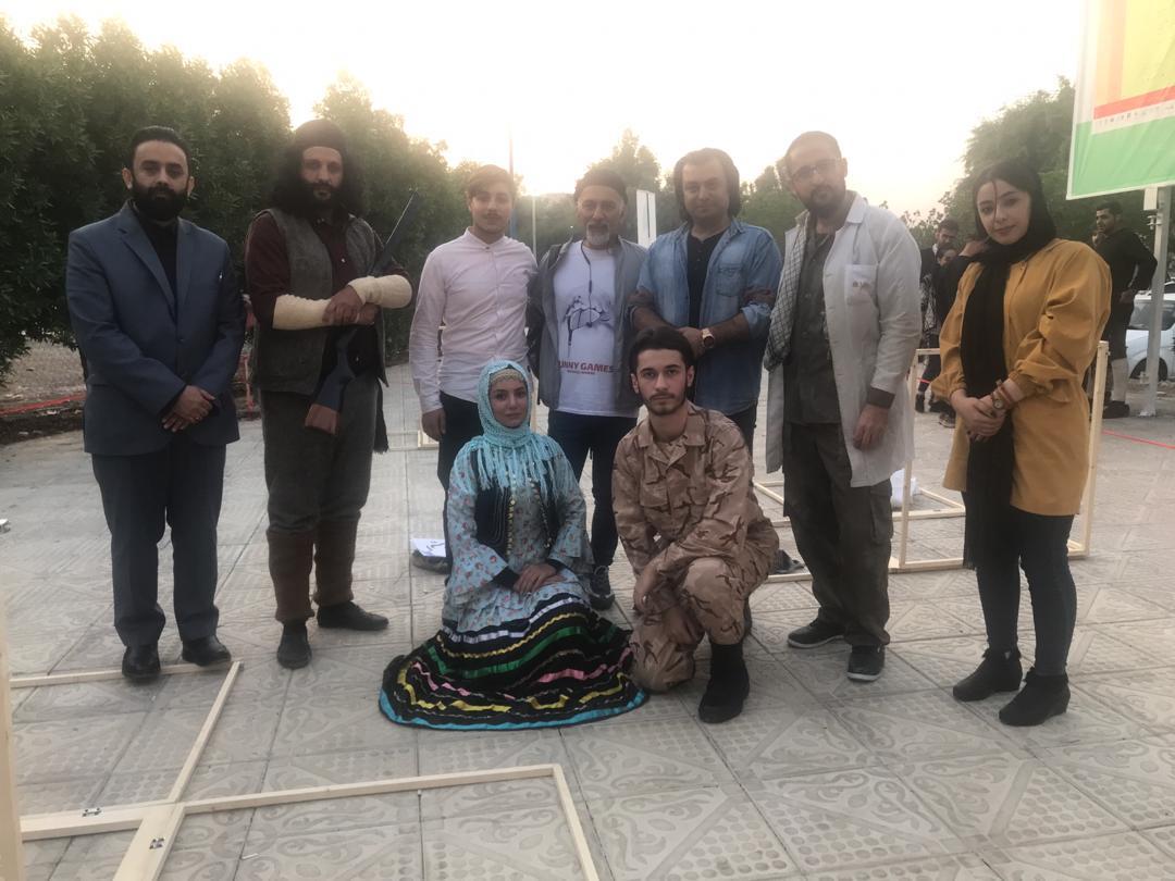 نمایش خیابانی یار تویی  در بیست و دومین جشنواره ملی تئاتر فتح خرمشهر اجرا شد