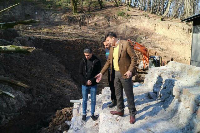 گزارش تصویری بازدید شهردار رشت از ادامه روند عملیات اجرایی ساخت سوله و تجهیزات تصفیه خانه شیرابه سراوان
